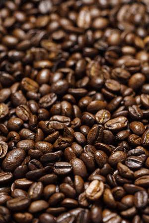 Coffee beans background 免版税图像