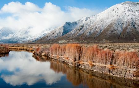 Erosion Control on a Sierra Nevada Riverbank photo