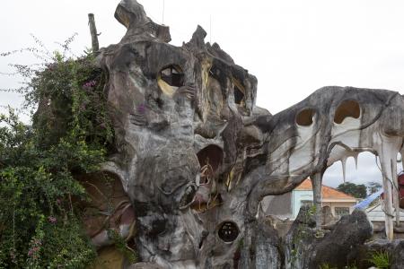 madhouse: Madhouse in Da Lat, Vietnam Stock Photo