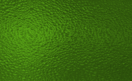 Green stained glass window texture Stock Photo