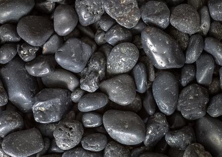 volcanic stones: macro shooting of volcanic stones of the island Santorini, Greece Stock Photo