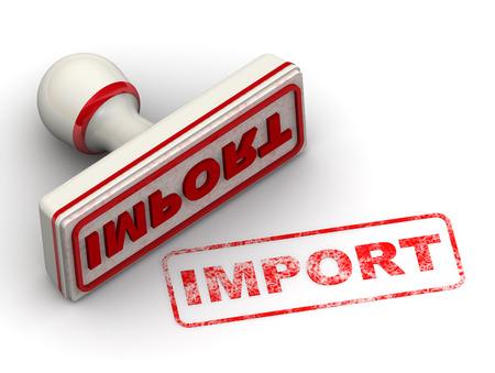 imprint: Import. Seal and imprint