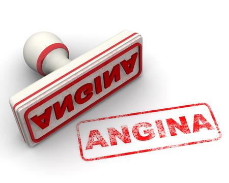 angina: Angina. Seal and imprint