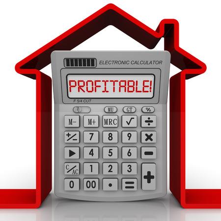 rentable: Inmobiliario rentable. Concepto