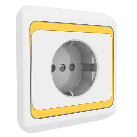 outlet: Electric outlet Stock Photo