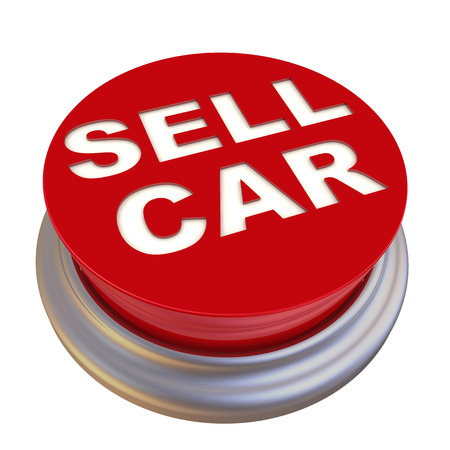 sell car: Sell car. Red button labeled
