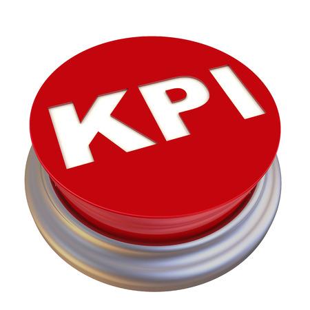 kpi: KPI  Key Performance Indicators. Red button labeled