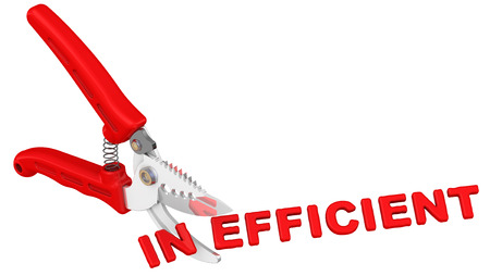 inefficient: Efficient. The concept of changing the conclusion