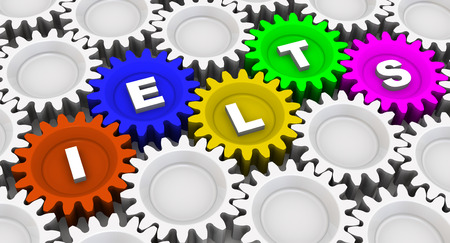 IELTS. Abbreviation on the gears