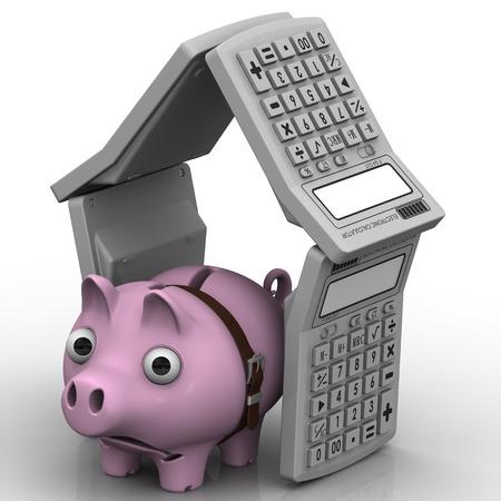Mortgage crisis. Financial concept photo