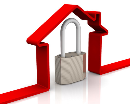 Protection of real estate. Concept