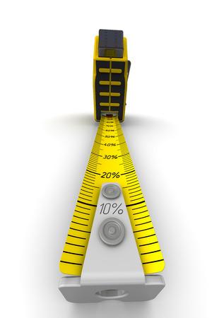 metro medir: Descuentos Meter. Cinta m�trica Foto de archivo