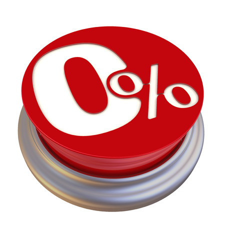 on off button: Zero percent Off Button