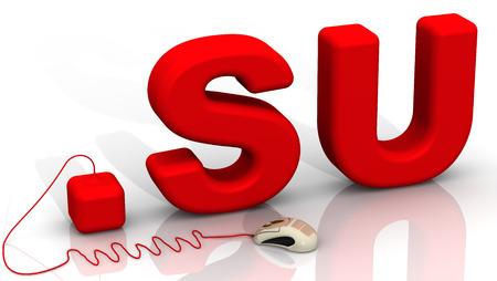 prefix: International domain .su
