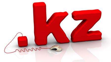 kz: Kazakh domain .kz