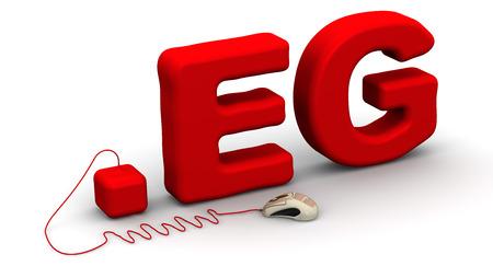 prefix: Egyptian domain .eg