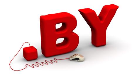 prefix: Belarusian domain .by