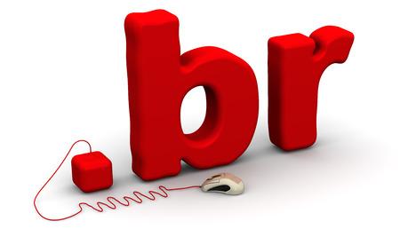 prefix: Brazilian domain .br