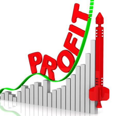 volatility: Profit. Growth chart