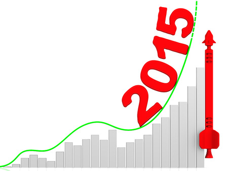 year increase: 2015. Growth chart