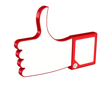 제스처: Thumbs-up. Hand Gestures