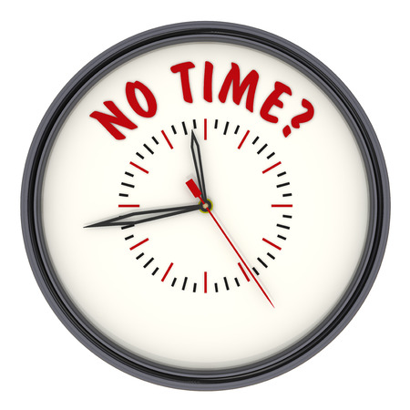 no time: No time Watches with an inscription Stock Photo