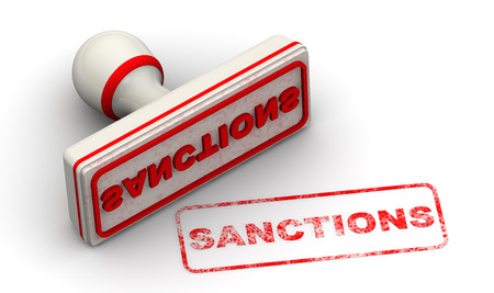 Sanctions. Seal and imprint