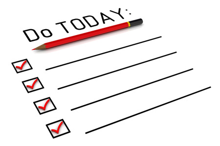 today: Do list for today