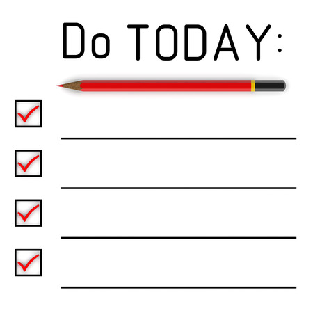 to do list: Do list for today