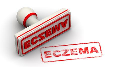 eczema: ECZEMA. Seal and imprint