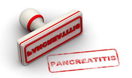 pancreatitis: Pancreatitis. Seal and imprint