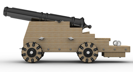 bombard: Artillery gun