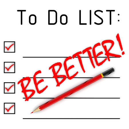 be: Be better! To do list