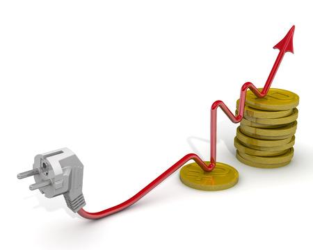 energia electrica: El aumento de las tarifas el�ctricas. Idea