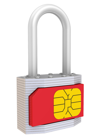 private access: SIM-card protection. Concept