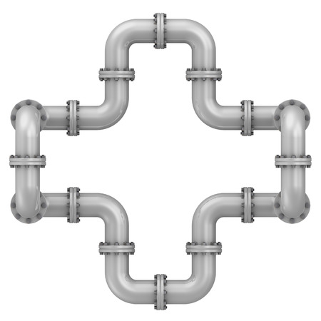 flanges: Curved bends with flanges. Connections of bends