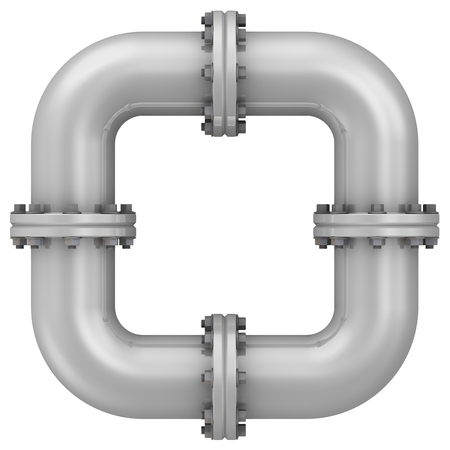 flanges: Curved bends with flanges. The connection of bends in the form of frames