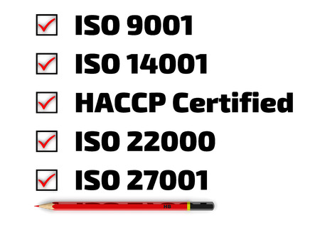 standards: List of ISO standards
