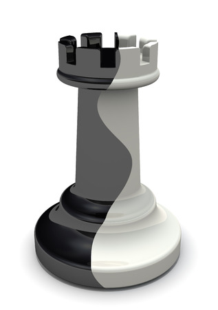 chess rook: Two-faced rook. Rook traitor