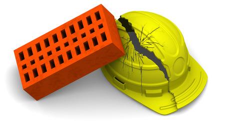 tragedies: Accident. Concept Stock Photo