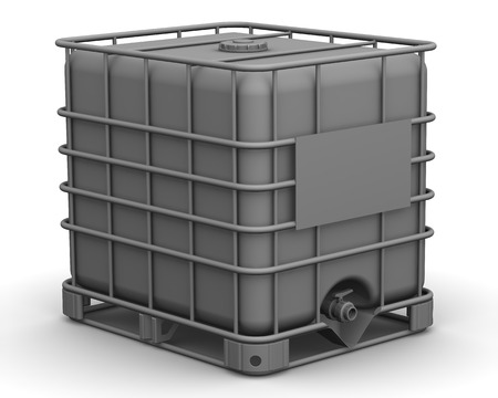 intermediate: The cubic capacity plastic container. Intermediate Bulk Container