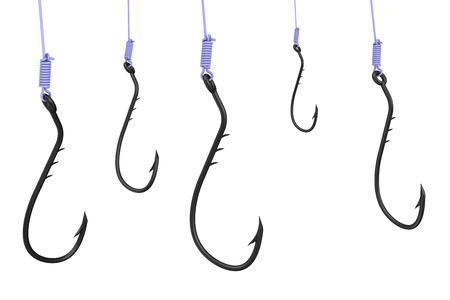 Fishing hooks Imagens