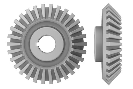 bevel: Bevel pinion Stock Photo