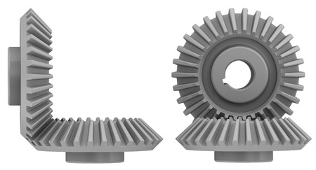 bevel: Bevel gears in engagement