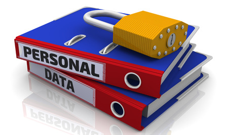 personal data: Personal data is protected