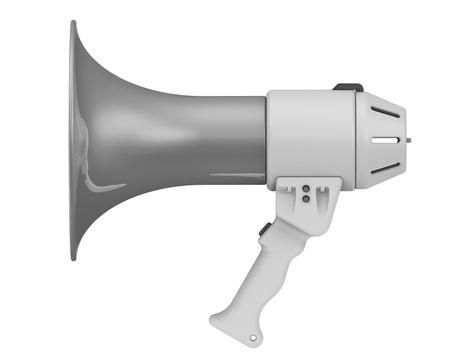 resonator: Megaphon. Electric horn Stock Photo
