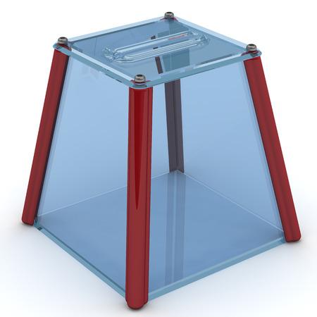voting: Ballot box for voting Stock Photo