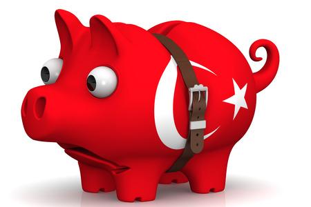 crisis economica: La crisis económica en Turquía. Concepto