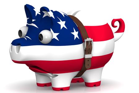 アメリカ合衆国の経済危機。コンセプト