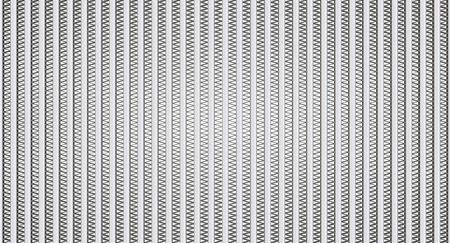 exchanger: Honeycomb of heat exchanger Stock Photo